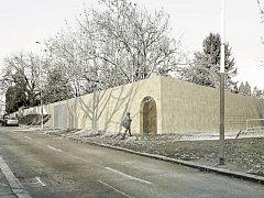 Vizualizace: Hostivařský hřbitov se rozšíří podle návrhu autorského týmu sedmi architektů v čele se Stanislavem Krčmárikem.