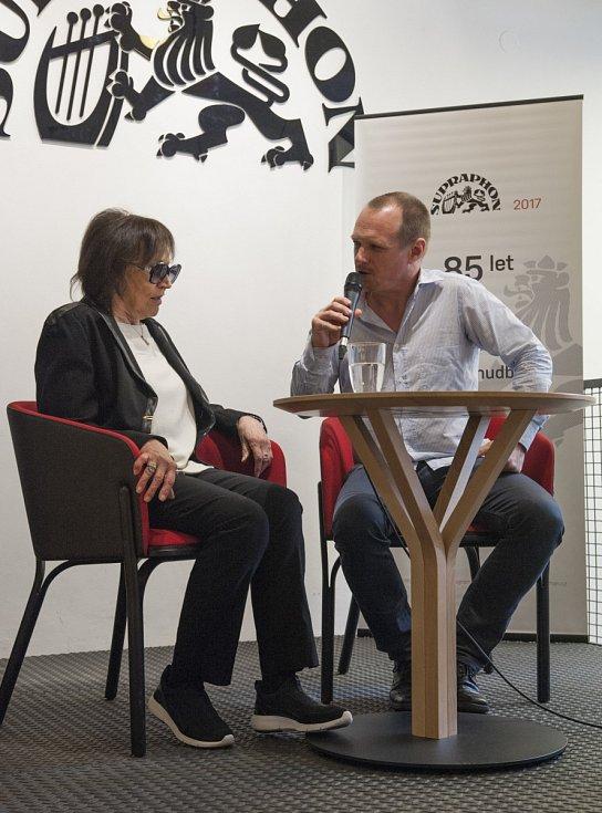 Setkání s Martou Kubišovou v Supraphonu