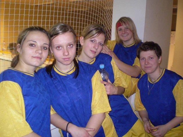Dívčí fotbalový klub Holešov.