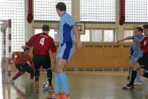 Na turnaji v Poličce inkasoval kroměřížský tým třináct branek.