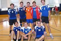Nahoře zleva: Nesrsta, Matela, Vaculík, Janečka, Stárek, Dole Zleva: Červenka, Koláček, Chytil.