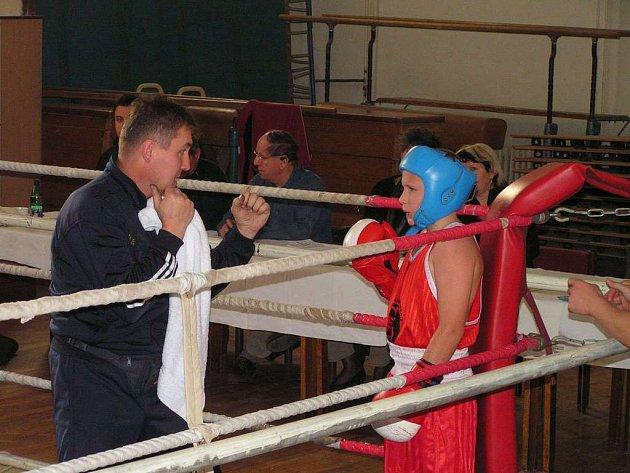 Boxerský turnaj v Holešově.