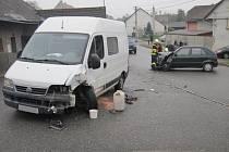 Dopravní nehoda v Žeranovicích