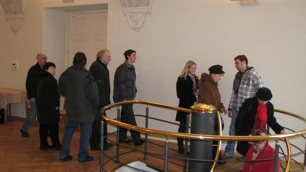 Po otevření zrekonstruované části zámku pořádalo město holešov v neděli 1. února Den otevřených dveří.