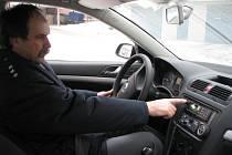 Nová policejní auta v Kroměříži