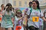 Vybarvený běh v Kroměříži. Ilustrační foto