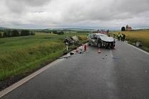 Červnová nehoda u Cetechovic si i nadále vyšetřuje.