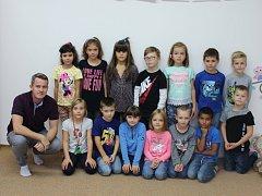 Třída 1. D ze Základní školy Zachar v Kroměříži s panem učitelem Bc. Markem Šónem