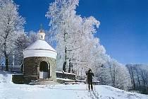 Svatý Hostýn v zimě. Ilustrační foto.