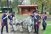 Tradiční Dušičkový pochod Napoleonských vojsk v Bystřici pod Hostýnem