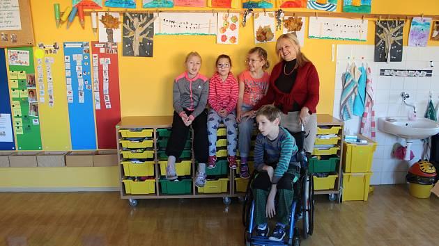 Základní škola F. Vančury v Kroměříži. Ilustrační foto