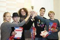 Na Obchodní akademii v Kroměříži uspořádali turnaj v piškvorkách.