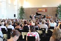 Zahajovací koncert Letní hudební akademie Kroměříž.
