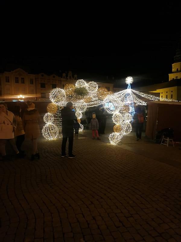 Kroměřížské vánoční trhy 2020.