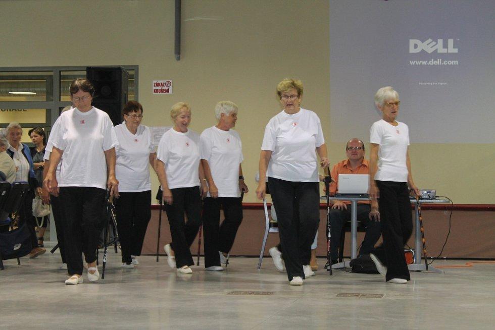 Na Kroměřížském výstavišti Floria se ve čtvrtek sešlo na 250 seniorů. Konala se tam jejich rozlučka s létem.