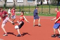 Hřiště základní školy Slovan v Kroměříži