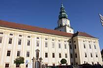 Arcibiskupský zámek v Kroměříži.