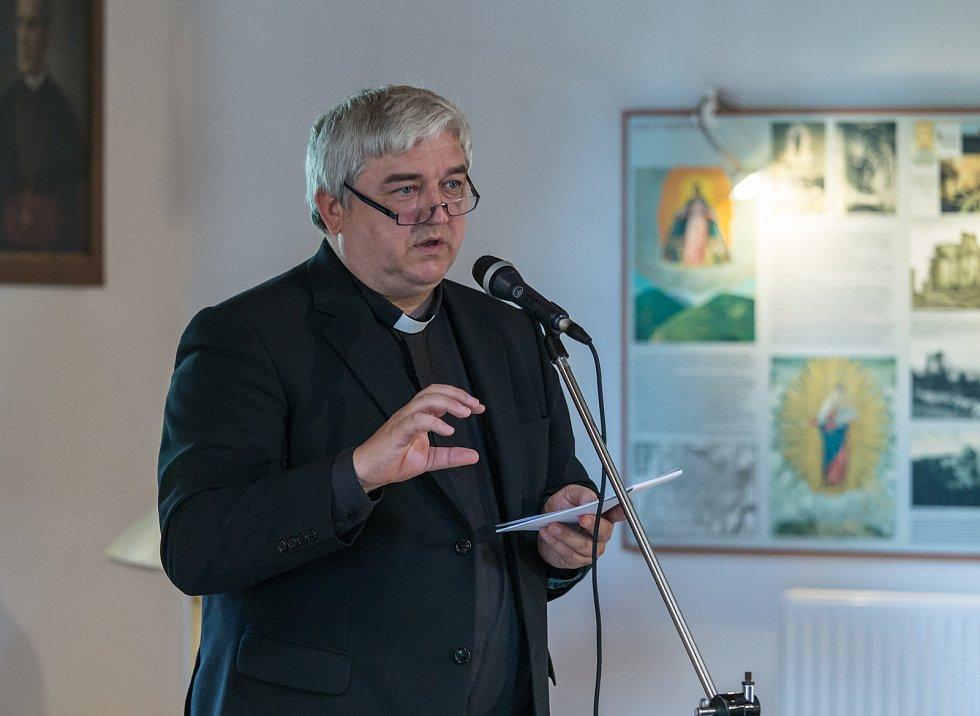 Josef Stuchlý, rektor baziliky Nanebevzetí Panny Marie na Svatém Hostýně.
