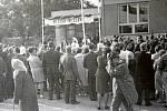 1969. Vzhledem k už zmíněné dlouhé tradici místního Sokola byla v obci v srpnu roku 1969 dokončena stavba sokolovny, ke které se v akci Z připojilo mnoho místních. Budova dodnes funguje jako místo konání řady akcí.