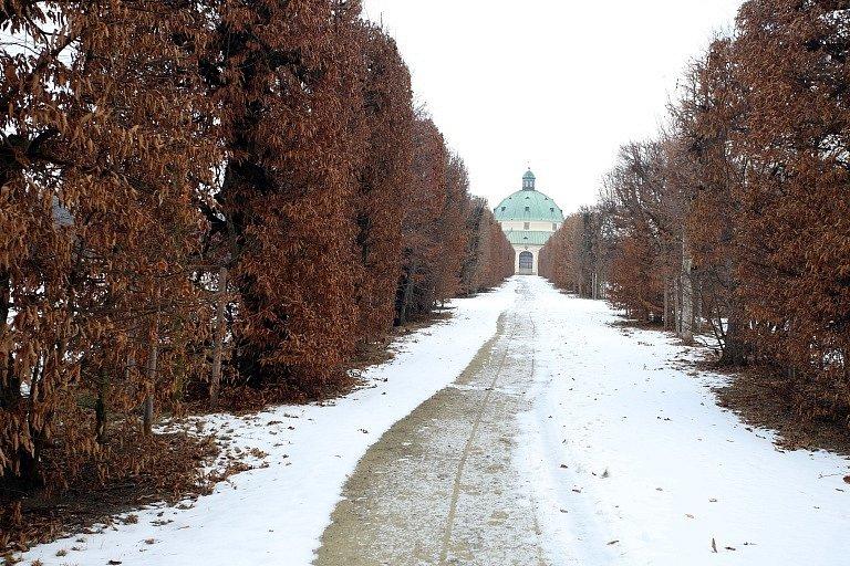 Květná zahrada v Kroměříži.