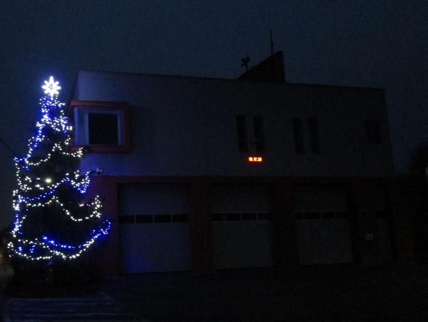 Vánoční strom 2020 v Poličné
