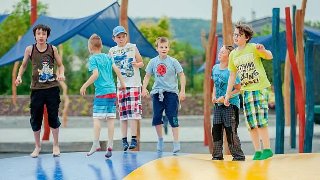 Zábavní park v Kroměříži láká návštěvníky z dalekého okolí.