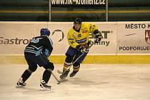 Už jenom dva zápasy jsou před kroměřížskými hokejisty v základní části.
