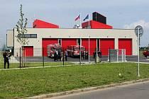 Nová požární stanice HZSZK v Holešově