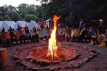 Holešovští Pionýři uspořádali letní kempy a také tradiční tábor v přírodě.