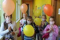 Děti v TYMY oslavily svůj svátek.