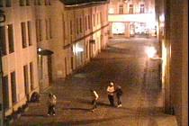 V pátek 2. prosince se skupina pěti mladíků bavila v kroměřížské ulici Ztracená trháním dřevin z květináčů.
