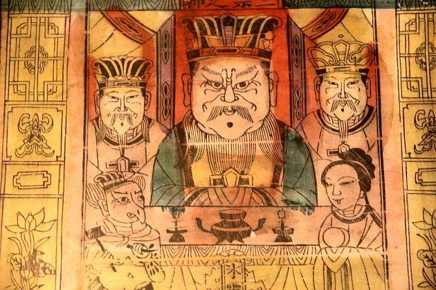Výstava Svět čínských bůžků v muzeu Kroměřížska.