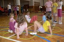 V Holešově se i letos koná soutěž Děti v pohybu.