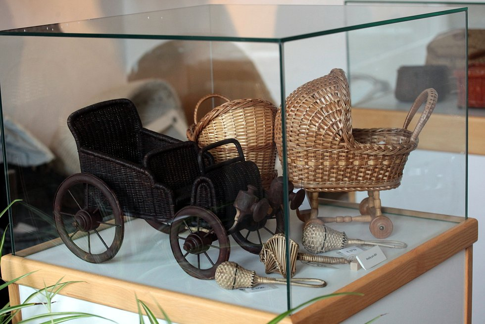 Košíkářské muzeum v Morkovicích.