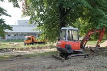 Začala revitalizace Slovanského náměstí.