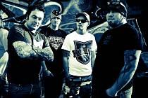 Organizátoři morkovického festivalu Máj a Les a členové kapely Hannibal Lecter (výřez z fota).
