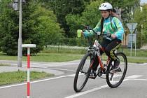 Okresního kola soutěže Mladých cyklistů se 13. května na Dopravním hřišti v Kroměříži zúčastnilo čtrnáct družstev žáků ze Základních škol z Kroměřížska.