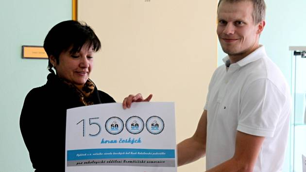 Výtěžek ze startovného Rohálovské padesátky poputuje na zútulnění onkologického oddělení Kroměřížské nemocnice.