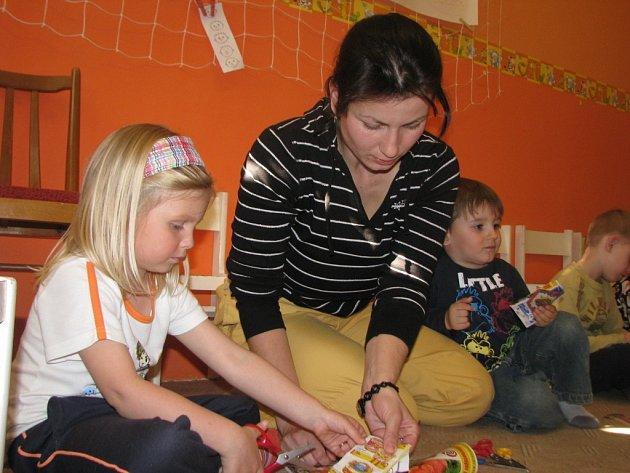 Mateřské centrum Klubíčko uspořádalo Den mlsounů.