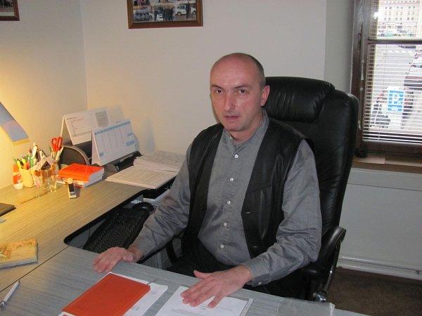 Ředitel městské policie vKroměříži Libor Kubiš.