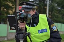 Holešovští strážníci budou nově měřit rychlost i v lokalitě kolem Bořenovské ulice.