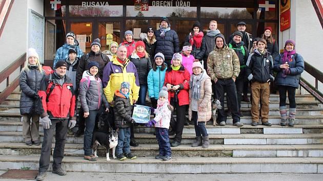 SVČ TYMY uspořádalo 30. prosince 2019 už čtvrtý ročník pochodu Pro prales.