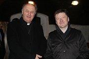 Mladým vínům z Arcibiskupských zámeckých sklepů v Kroměříži i letos požehnal olomoucký arcibiskup Jan Graubner.