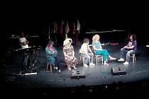 Aktéři televizní improvizační show Partička vystoupili v úterý 15. září večer v kroměřížském Domě kultury.