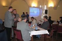 Holešovská firma Satturn, s.r.o. uspořáda ve čtvrtek 9. prosince setkání starostů, během kterého zhodnotila svou práci během roku a představila plány.