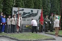 V pondělí 6. května se uskutečnila na holešovském hřbitově připomínka 68. výročí osvobození města.