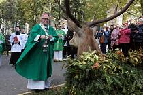 Svatohubertská pouť myslivců na Svatém Hostýně, 16. října 2021