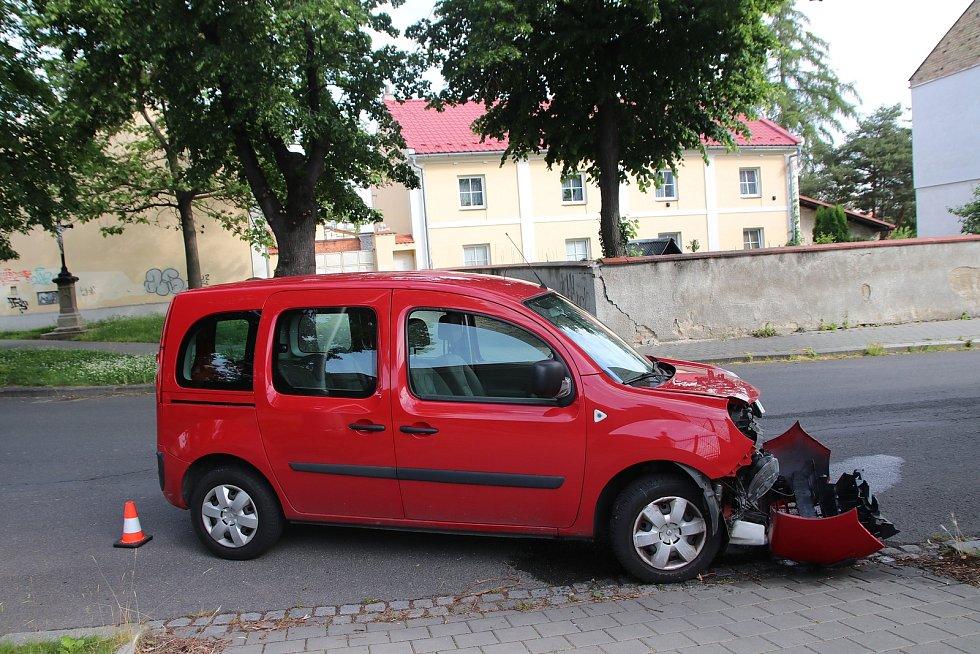 Nehoda v Kroměříži, 7.6. 2020.