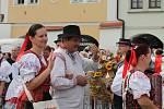 Krajské dožínky 2016 v Kroměříži.