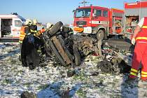 Smrtelná dopravní nehoda u Martinic.